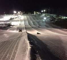 Try Nighttime Snow Tubing At Seacoast Adventure In Maine