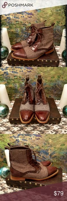 🎉 LIKE NEW!! GIOVANNI MEN BOOTS! WONT LAST 🎉👍 TAN BOOTS. GIOVANNI MEN'S LEATHER SOLE , HEEL BOOTS. VERY STYLISH. SIZE 8.5. JIM'S CLOSET. S. FLA. GIOVANNI Shoes Boots