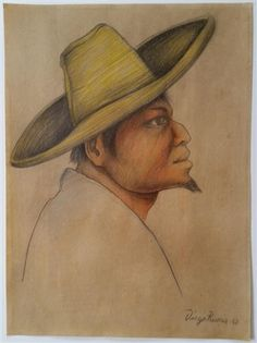 Portrait by Diego Rivera