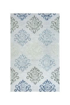 Rizzy Lancaster Ornamental Rectangle Rug - 5ft. x 8ft. - Grey