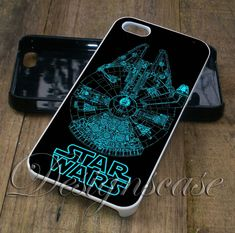 Star Wars Millennium Falcon - iPhone 6/6S Case, iPhone 5/5S Case, iPhone 5C Case,iPhone 4/4s plus Samsung Galaxy S4 S5 S6 Edge Cases