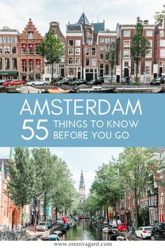 Traveling to the Netherlands? Here are 55 things you should know before going to the Netherlands including tips on transport, budget and more. Amsterdam City, Amsterdam Travel, Amsterdam Transport, Amsterdam Holland, Holland Netherlands, Europe Travel Guide, Europe Destinations, Travel Guides, Koh Tao
