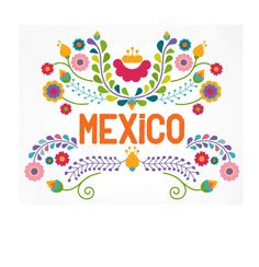 Mexican ethnicity clip art vector illustrations available to search from thousands of royalty free illustration producers. Mexican Colors, Mexican Style, Mexican Flowers, Mexican Embroidery, Embroidery Patterns, Folk Embroidery, Mexico Art, Mexico Flag, Mexican Designs