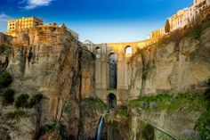 Puente de Ronda - Ronda, Hiszpania mosty w Europie