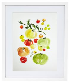 for our food print wall | by virginia johnson
