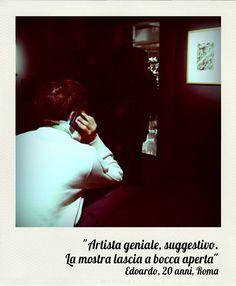 """""""Artista geniale suggestivo.  La mostra lascia a bocca aperta"""" Edoardo, 20 anni, Roma >> #escherRoma"""