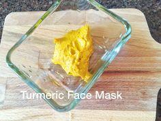 DIY Turmeric Face Mask for Glowing Skin