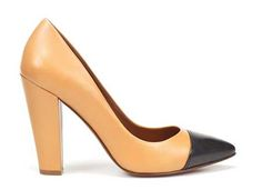 Zara Cap Toe Court Shoes