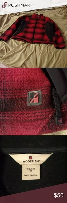 Woolrich Woolrich plaid coat, very comfortable and warm. Like new, runs kinda big. Super cute! Woolrich Jackets & Coats