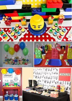 ok, sorry (to my) Michael, guess I never did your Lego parties like this huh?