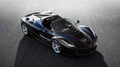 Ferrari onthult nieuwe cabrio LaFerrari: de wind door je haren aan 350km/u - HLN.be