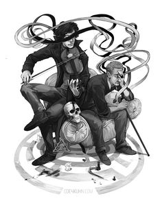 Sherlock Ribbon - Coey Kuhn digital print by 13crowns on Etsy, $18.00