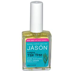 Jason Natural, Tea Tree Nail Saver, 0.5 fl oz (15 ml)