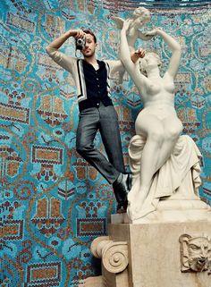 Ryan Gosling Wears This Spring's New Leading Man Menswear Photos   GQ