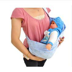 Adjustable Mini Baby Carrier newborn carrier Comfortable Sling Backpack for  caring baby portable shoulder baby transport belt c408943feb0