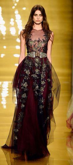 NY: Reem Acra - Runway - Mercedes-Benz Fashion Week Fall 2015