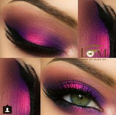 Makeup Trends That Will Blow You Away A Pink And Purple Eyeshadow Makeup Look ★ Simple and creative makeup ideas for gorgeous looks. Bring your blue eyeshadow and pink lipstick game to a new level. Beautiful Eye Makeup, Love Makeup, Makeup Tips, Makeup Looks, Hair Makeup, Makeup Ideas, Sexy Makeup, Prom Makeup, Sparkly Makeup