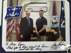 Mr. Steven Kane at the Pentagon!!! The Las Ship is so awesome!!