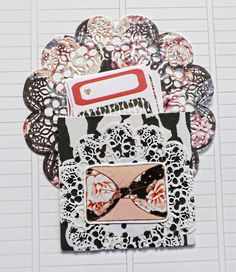 We R Memory Keepers Gift Bag Punch Board Planner Pocket