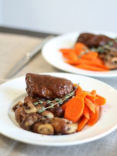 Short ribs Bordelaise — or Bourguignon if you use wine from the ...