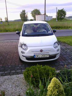 Fiat 500 naszej fanki Pauliny :)
