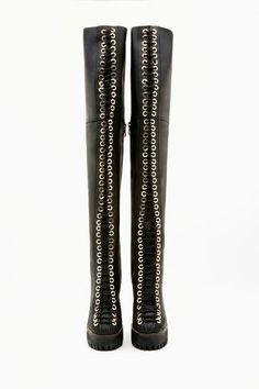 Jeffrey Campbell Longview Thigh High Boot