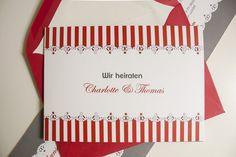 """Einladungskarte """"Sweet Charlotte"""" Romantisch-verspielt zur Hochzeit Design, Paper, Create Quotes, Invitation Text, First Names, The Last Song, Getting Married, Invitations, Birth"""
