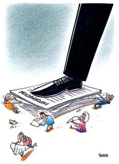 Politik Karikatürleriyle Öne Çıkan Sanatçı Gatis Sluka'dan 20+ İllüstrasyon Sanatlı Bi Blog 10