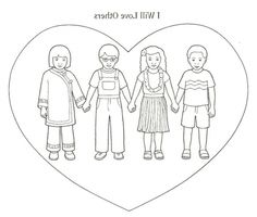 the best love your neighbor coloring page httpcoloringalifiah
