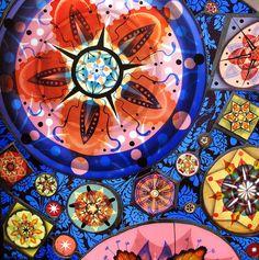 Judith Schaechter stained glass