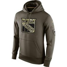 New York Rangers Nike Salute To Service NHL Hoodie