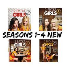 2 Broke Girls TV Series Complete Seasons 1 2 3 4 Boxed DVD Set s New | eBay