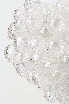 Bubbling Glass Chandelier - Anthropologie.com