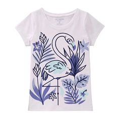 Kid Girls' Summer Graphic Tee from Joe Fresh. Celebrate summer with a cool graphic and text. Only $10.