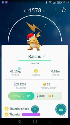 Raichu (Chrismass edition)
