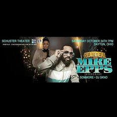 repost via @instarepost20 from @coredjskno The #RealDealTour In Dayton Ohio Saturday October 24TH At The Schuster Center 7PM Featuring Mike Epps @EPPSIE Alongside @SOMMORE And @COREDJSKNO This Show Will Be Off The Chain!! @VTADayton DJ SKNO CORE DJ's Do You Need A REAL DJ For Your Club Sports Event Concert Grand Opening Corporate Event Conference Wedding Or Mixtape? For All Serious Inquiries With A Budget ONLY Contact Us At whoknowsdjskno@gmail.com DJ SKNO CORE DJ's Thank You…