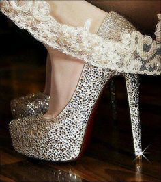 Shoes à paillettes