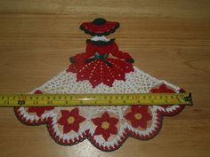 Doily girl pattern lot. Includes variations of a pattern for Fourth of July, Easter eggs, poinsettias, leaves, shamrocks and hearts. This is for the pattern only, not the finished product. It is worked in size 10 crochet thread. This in my own pattern and is copyright protected. You may sell the finished product, but not copy or sell the pattern. I accept paypal as payment. Pattern is available for download in pdf format after payment.