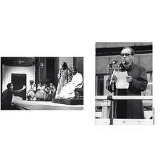 Heiner Müller (1929 - 1995), Pseudonym Max Messer, gilt als einer der wichtigsten deutschsprachigen Dramatiker der zweiten Hälfte des 20. Jahrhunderts. Bedeutung erlangte er außerdem als Lyriker, Prosa-Autor und Essayist, Interviewpartner sowie als Regisseur, Dramaturg, Intendant und Präsident der Akademie der Künste Berlin.    Einige Werke:  - Das Laken (1951)  - Ödipus, Tyrann (1967) (zu sehen in Bild) - Wolokolamsker  Chaussee I – V (1984 – 1986)