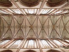 größtes backsteingewölbe der welt marienkirche  _lübeck