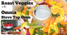 How to roast veggies on the stove top