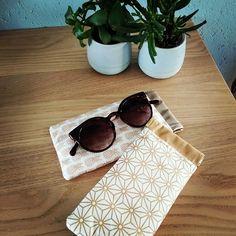 caelina.creations J'ai envie de ☀️, pas vous ? 😋 #sunshine #lunettessoleil #étuiàlunettes #faitmain #handmadefashion #handmade #coutureaddict #couture #accessoire #accessoiremode #sacôtin