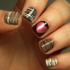 Box of chocolate style nails