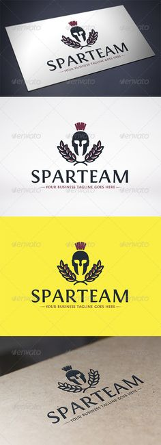 Spartan Logo Template #GraphicRiver - Three color version: color, greyscale and single color. - The logo is 100% resizable. - You can change text and colors very easy using the named and organized layers that includes the file. - The typography used is Fontin you can download here: .fontsquirrel /fonts/Fontin Created: 10 December 13 Graphics Files Included: Vector EPS #AI Illustrator Layered: Yes Minimum Adobe CS Version: CS Resolution: Resizable Tags Creative Design Studio #bodybuilding…