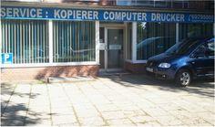Ladengeschäft mit Toner Express Lieferservice in Hamburger Büros..........