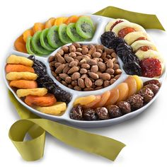 Golden State Fruit Ceramic Serving Tray Gift With Dried Fruit And Nuts * You can find more details here : Fresh Groceries Party Food Platters, Party Dishes, Dried Pears, Dried Fruit, Gourmet Gifts, Gourmet Recipes, Dry Fruit Tray, Fruit Sec, Food Decoration
