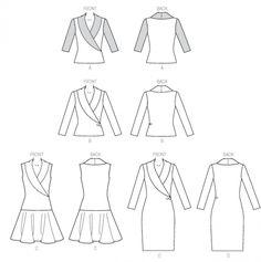 Patron Mc Call's 7016 : Patrons de couture