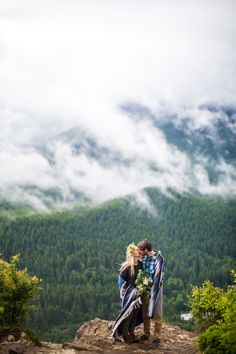 Outdoorsy & Adventurous Engagement Shoot by  J Tobiason Photography