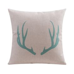 Nordic Linen Cotton Cushion Pillow Seat Cushion Geometric Deer flamingo Home Decorative Pillows free shipping-inCushion from Home & Garden on Aliexpress.com | Alibaba Group