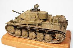 Panzer II Ausf.F - DAK (Tamiya)